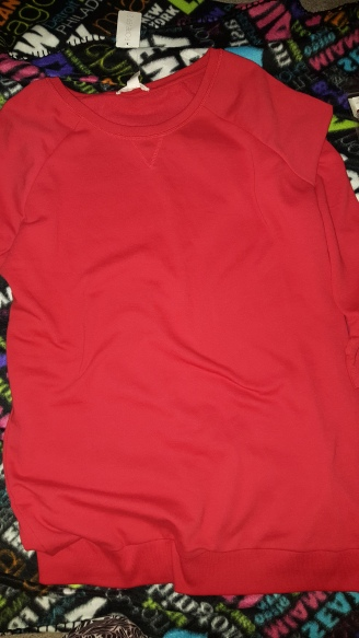 Red Sweater from Forever 21